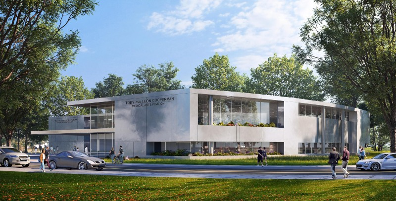 Cooperman medical arts pavilion exterior rendering